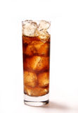 Glass with cola Stock Photography