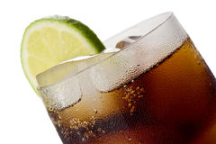 Glass of Cola Royalty Free Stock Photography