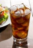 Glass of cola Stock Photos