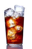 Glass with cola Stock Photos