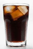 A glass of cola Royalty Free Stock Image