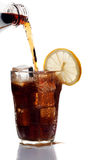 Glass of cola drink Royalty Free Stock Photography