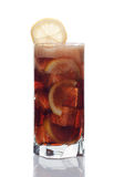 Glass of cola drink Royalty Free Stock Photos