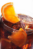 Glass of cola drink Stock Image