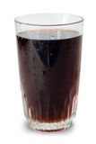 Glass of cola isolated Stock Images