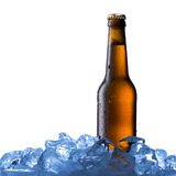 Glass of cold beer Royalty Free Stock Photo