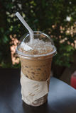 Glass Of Cold Coffee Royalty Free Stock Image