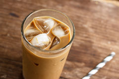 Glass Of Cold Coffee Royalty Free Stock Photography