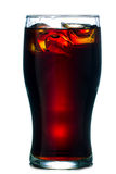 Glass of cold cola Stock Photo