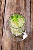 Glass of cold drink Royalty Free Stock Image