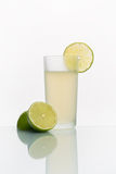 Glass with cold lemonade Stock Image
