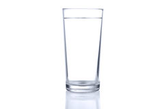 Glass of cold still water Royalty Free Stock Photography