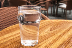 A glass of cold water Stock Photography
