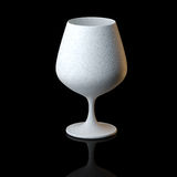 Glass Collection - Snifter. On Black Background Royalty Free Stock Photos