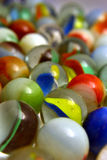 Glass Colored Balls. Royalty Free Stock Photo