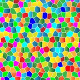 Glass Colorful Mosaic Background Royalty Free Stock Photo
