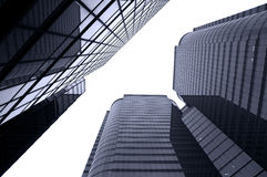 Glass Commercial Buildings, Hong Kong Royalty Free Stock Photography