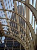 Glass, Concrete, Steel Royalty Free Stock Photo