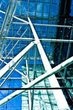 Glass construction Royalty Free Stock Photos