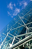 Glass construction Stock Image