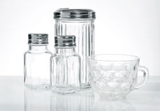Glass Containers Stock Photo