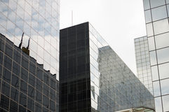 Glass Corporate Buildings Stock Photos