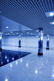 Glass corridor Royalty Free Stock Photos