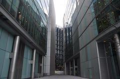 Glass corridor Stock Photography