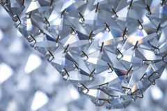 Glass crystal design elements Stock Images