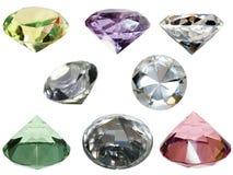 Glass crystals Stock Photos
