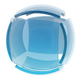 Glass cube Royalty Free Stock Photos