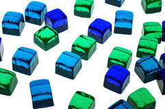 Free Glass Cubes Royalty Free Stock Photo - 583265