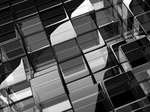 Glass cubes Stock Photography