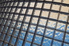 glass cubes texture Stock Photography