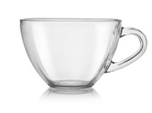Glass cup(0).jpg Royalty Free Stock Images