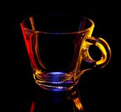 Glass cup Royalty Free Stock Photography