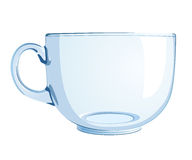 Glass cup Stock Images