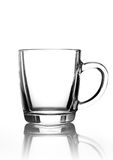 Glass cup black Royalty Free Stock Photography
