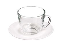 Glass cup Royalty Free Stock Photos