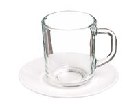 Glass cup Stock Photography