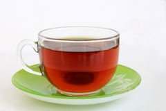 Glass Cup with tea Royalty Free Stock Photo
