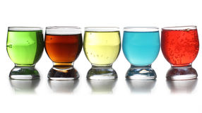 Glass cups Royalty Free Stock Photography