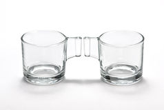Glass cups  Royalty Free Stock Photos