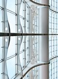 Glass curtain wall Stock Photos