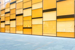 Glass curtain wall background Stock Image