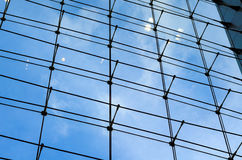 Glass curtain wall Stock Images