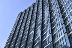 Glass curtain wall of modern architecture Royalty Free Stock Photography