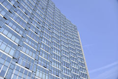 Glass curtain wall of modern architecture Stock Photo