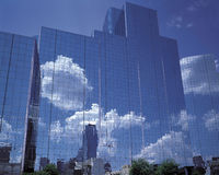 Glass curtain wall Royalty Free Stock Photo