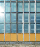 Glass curtain wall texture Stock Image
